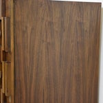 Image of Brutalist Walnut Armoire