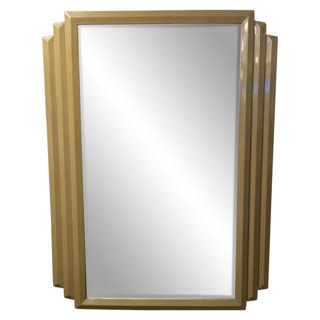 Image of Large Art Deco Mirror