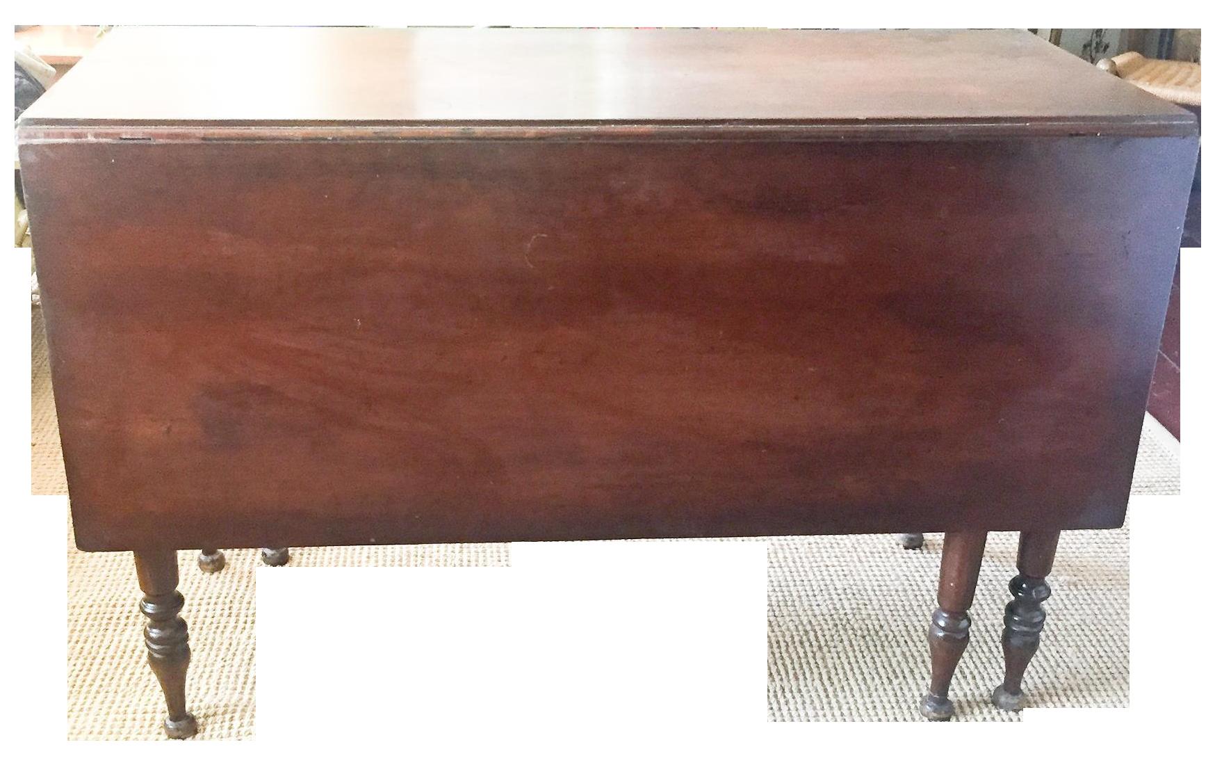 Antique Gate Leg Dining Table Chairish : 3baad8aa 6efa 4724 8b85 ebf19d8b77a5aspectfitampwidth640ampheight640 from www.chairish.com size 640 x 640 jpeg 27kB
