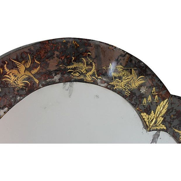 Chinoiserie Eglomise Mirror - Image 3 of 5