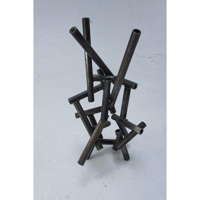 Metal Pipe Sculpture - Image 6 of 9