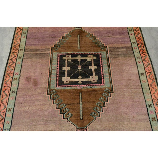 Hand Knotted Turkish Kars Rug - 5′9″ × 13′11″ - Image 7 of 11