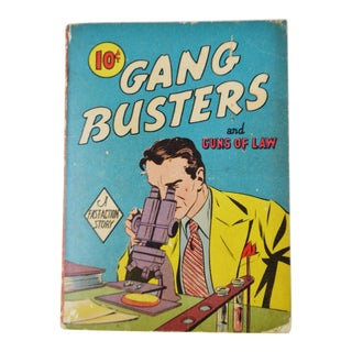Vintage 1940 Gang Busters and Guns of Law Fast Action Story Book