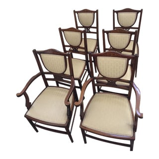 Regency Style Dining Chairs - Set of 6