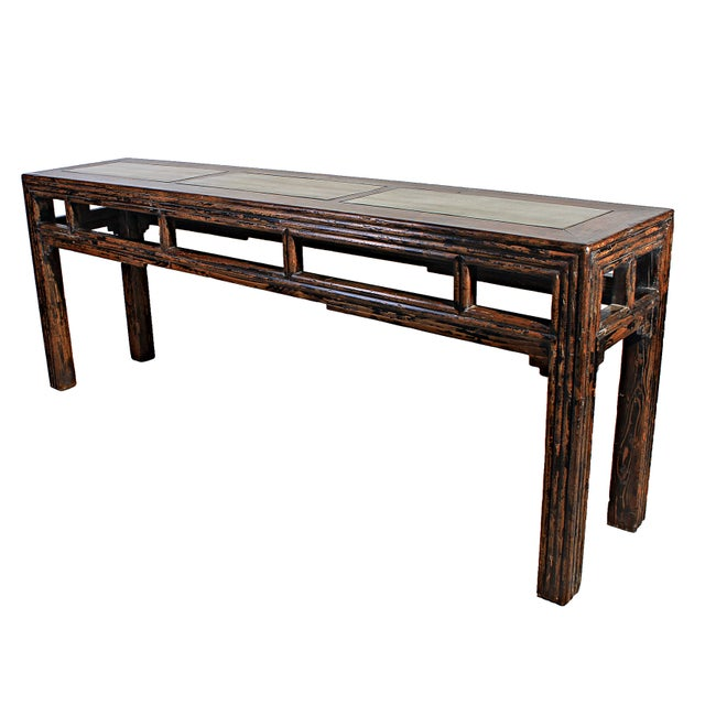 Sarreid LTD Asian Wooden Altar Table - Image 1 of 3