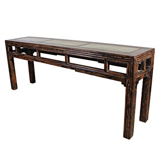 Sarreid LTD Asian Wooden Altar Table