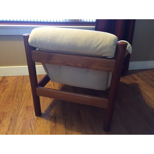 Domino Mobler Danish Modern Teak Lounge Chair (3 Available) - Image 4 of 8
