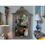 Image of Antique 19th C. French Louis XV Painted Mirror