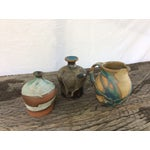 Image of Teal Studio Pottery - Set of 3
