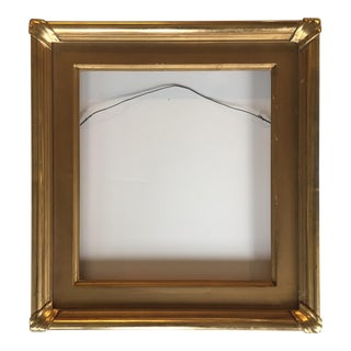 Vintage Gold Leaf Finished Frame
