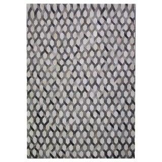 Cowhide Patchwork Rug - 9′ × 12′