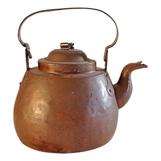 Hand Made Copper Kettle