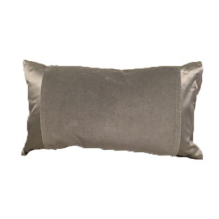 West Elm Silk & Velvet Down Pillow