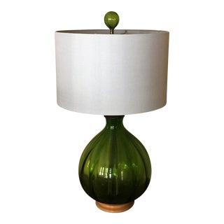 Mid-Century Blenko Table Lamp