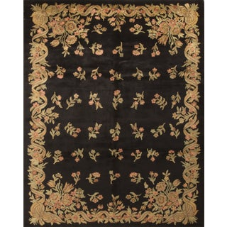 "Contemporary Hand Knotted Wool Rug - 8'2"" x 10'2"""
