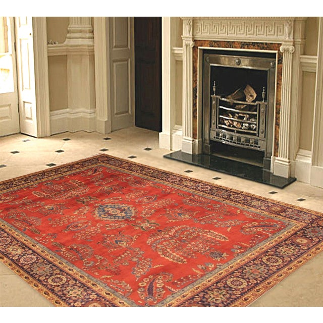 "Pasargad Sarouk Collection Rug - 8'1"" X 5'11"" - Image 3 of 3"