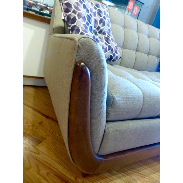 Bassett Mid Century Persall Style Sleeper Sofa - Image 6 of 6