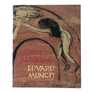 Edvard Munch-Words & Images-Art Book-1987