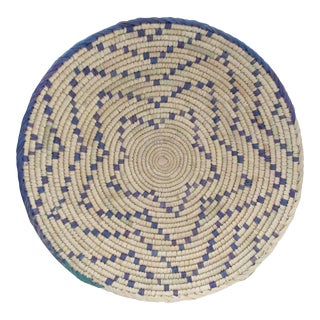 Blue Dot Pattern Basket