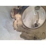 Image of Vintage Harrogate House Italian Pewter & Crystal Duck Wine Decanter