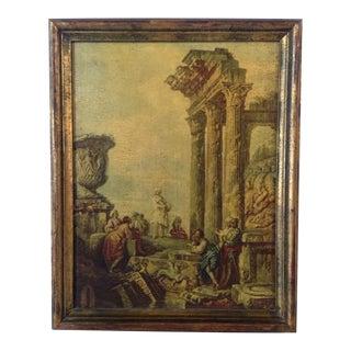 Gilded Frame Italian Oil Painting