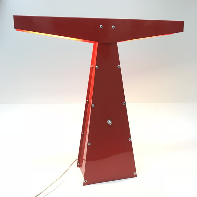 Sculptural Modernist Task Lamp - Image 2 of 9
