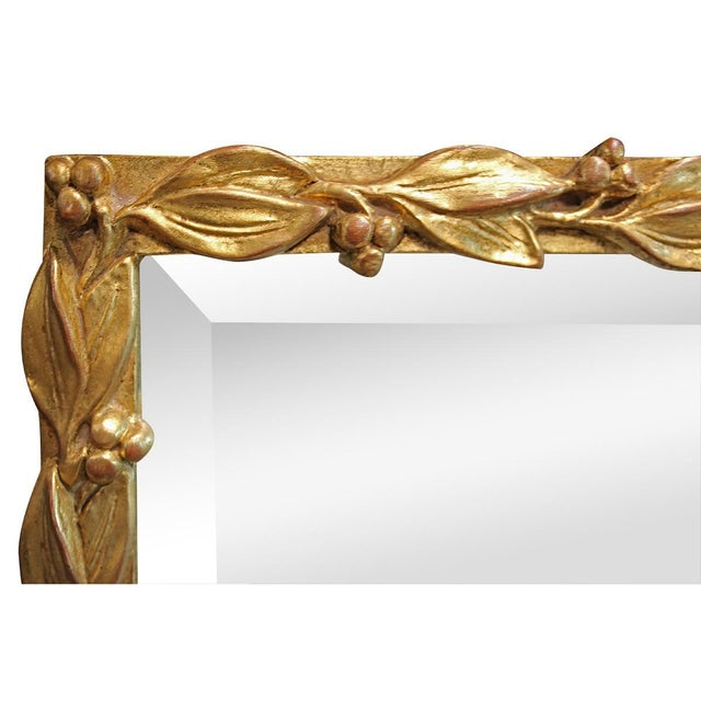 Image of Fruit And Vine Gilt Wood Mirror