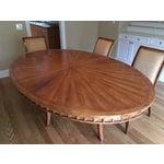 Image of Bausman Custom Fruitwood Dining Set