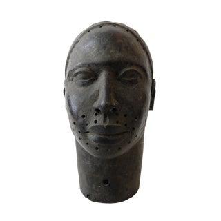 Benin Bronze Head of King Oba