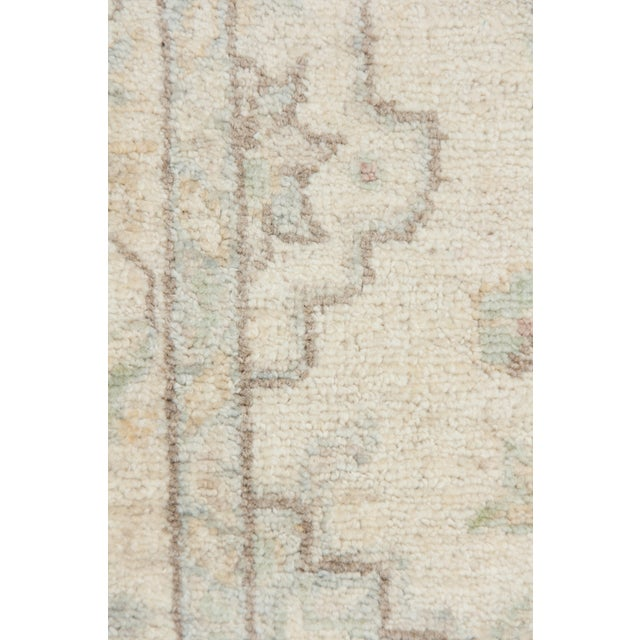 "New Oushak Hand Knotted Runner - 2'7"" x 9'4"" - Image 3 of 3"