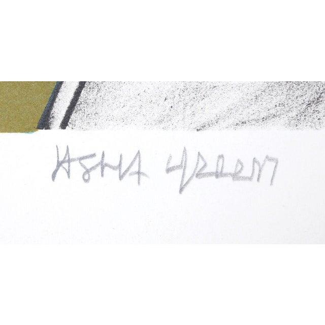 "Jasha Green, ""Untitled 28,"" Lithograph - Image 2 of 2"