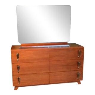 Mid-Century Modern Dresser & Mirror