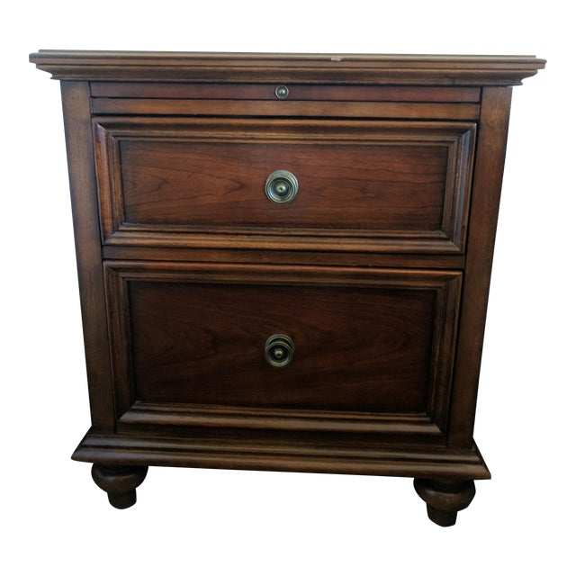 Image of Nightstand or End Table With Pull-Out Tray