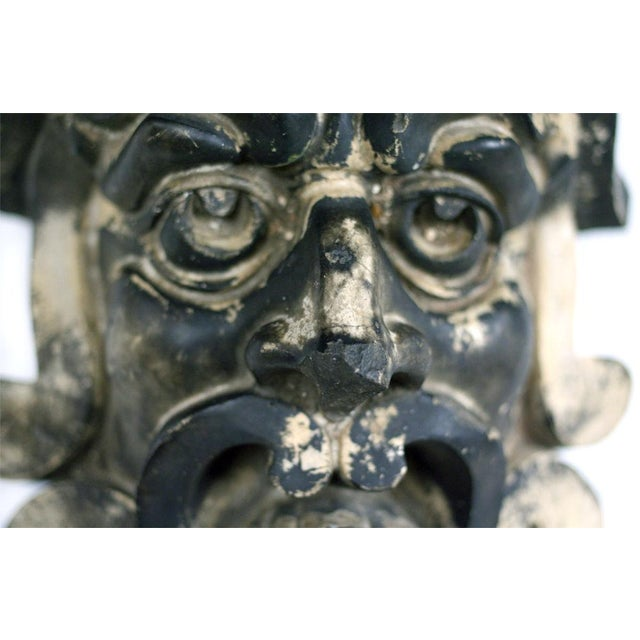 Pre-Columbian Style Terra Cotta Mask - Image 4 of 4