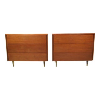 Pair of Mid-Century Dressers By John Stuart
