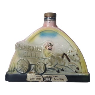 1969 Vintage Pappy Smith Jim Beam Decanter