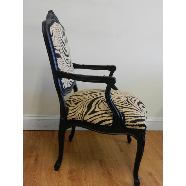 Louis XIV French Provincial Occasional Chair - Image 3 of 6
