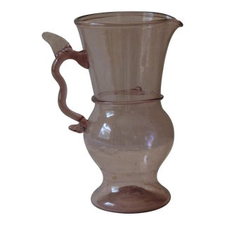 19th Century Venetian Wine Ewer