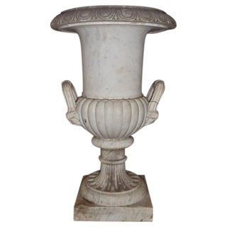 Large Early 19th Century Marble Urn