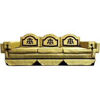 1950s Chinoiserie-Style Sofa