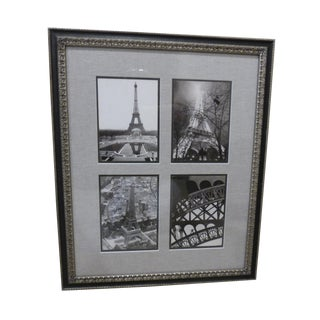 Photographs of Eiffel Tower in 1938 - Framed