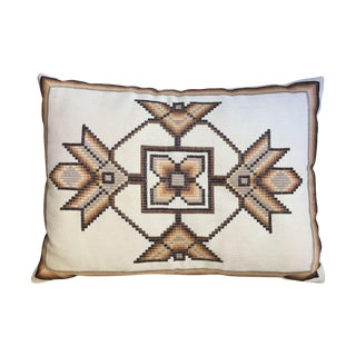 Vintage Native American Pillow