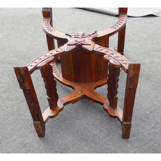 Vintage Asian Style Savonarola Chair - Image 11 of 11