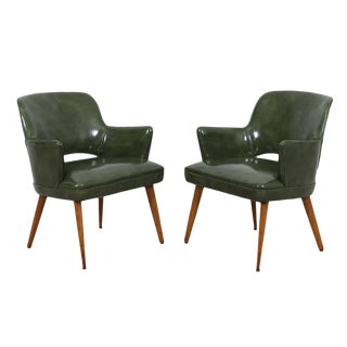 Knoll Saarinen Style Executive Chairs - A Pair