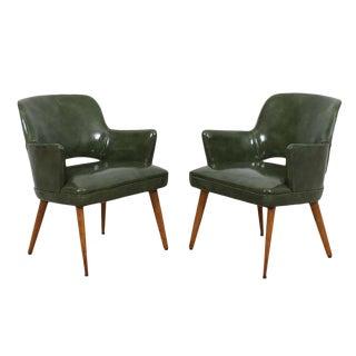 Knoll Saarinen Style Executive Chairs - A Pair