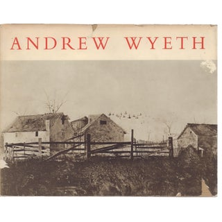 """Andrew Wyeth: Dry Brush and Pencil Drawings"" Art Book"