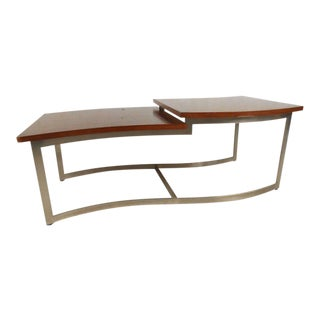 Vintage Modern Two-level Coffee Table by Lane Furniture