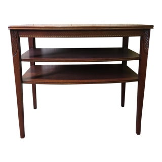 Mersman Mid-Century End Table With Shelves