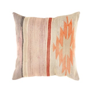 "Vintage Kilim Pillow - 1'7"" X 1'7"""