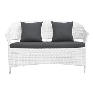 David Francis Outdoor Woven Bench